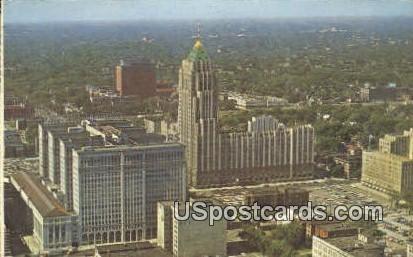 Detroit's Upper Shopping Center - Michigan MI Postcard
