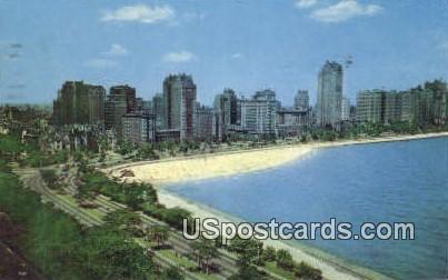Gold Coast - MIsc, Michigan MI Postcard