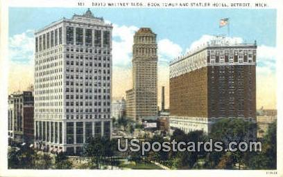 David Whitney Building - Detroit, Michigan MI Postcard