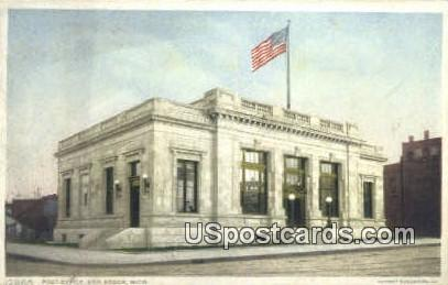 Post Office - Ann Arbor, Michigan MI Postcard