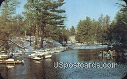 Scenic River - MIsc, Michigan MI Postcard