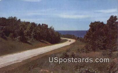 Along Michigan's Highways - MIsc Postcard