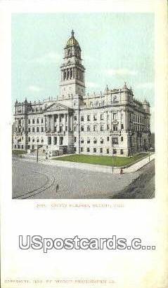 County Building - Detroit, Michigan MI Postcard