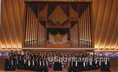 Chapel Organ, Concordia Lutheran Junior College - Ann Arbor, Michigan MI Postcard