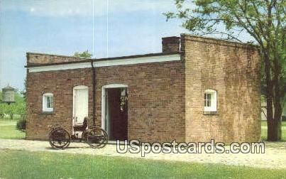 Bagley Avenue, Greenfield Village - Dearborn, Michigan MI Postcard