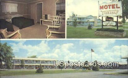 Timberly Motel - Gaylord, Michigan MI Postcard