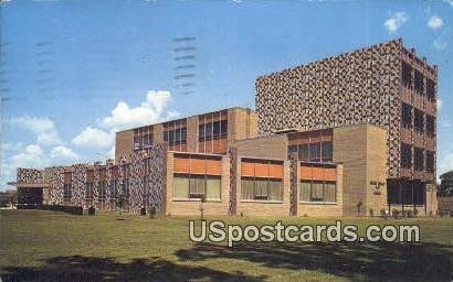 Charles Stewart Mott Library - Flint, Michigan MI Postcard