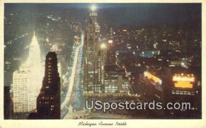 Michigan Ave - MIsc Postcard
