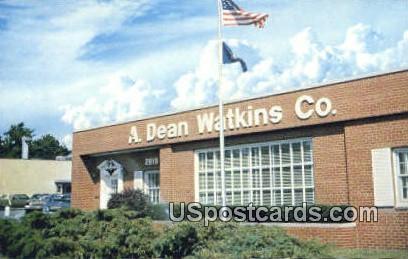 A Dean Watkins Co - Lansing, Michigan MI Postcard