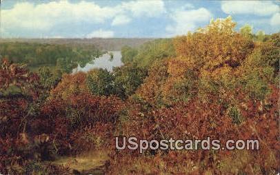 Michigan Water Wonderland - MIsc Postcard