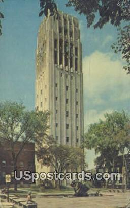 Burton Memorial Carillon Tower - Ann Arbor, Michigan MI Postcard