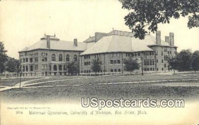 Waterman Gym, University of Michigan - Ann Arbor Postcard