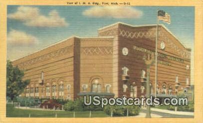 IMA Building - Flint, Michigan MI Postcard