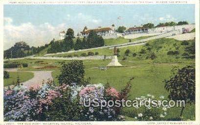 The Old Fort - Mackinac Island, Michigan MI Postcard