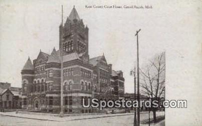 Kent County Court House - Grand Rapids, Michigan MI Postcard