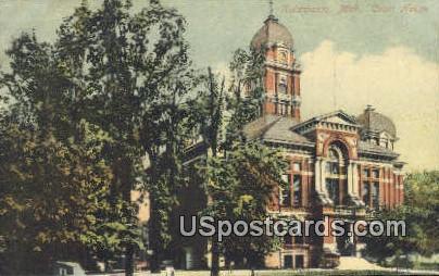 Court House - Kalamazoo, Michigan MI Postcard