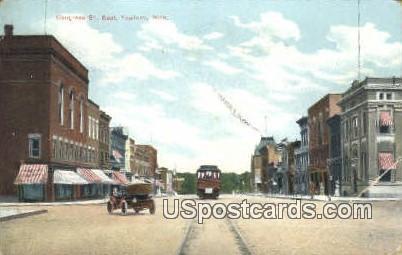 Congress St. - Ypsilanti, Michigan MI Postcard