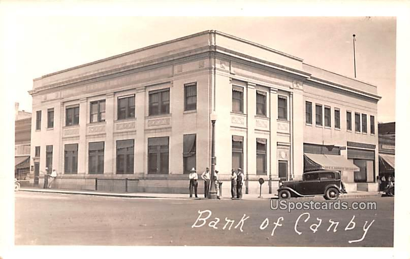 Bank of Canby - Minnesota MN Postcard