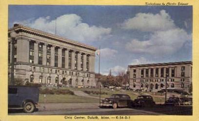 Civic Center - Duluth, Minnesota MN Postcard