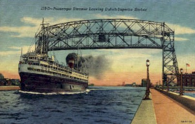 Duluth-Superior Harbor - Minnesota MN Postcard