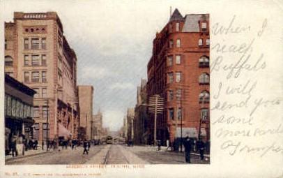 Superior St. - Duluth, Minnesota MN Postcard