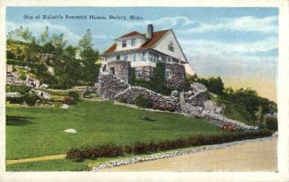 Beautiful Home - Duluth, Minnesota MN Postcard