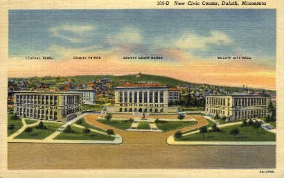 New Civic Center - Duluth, Minnesota MN Postcard