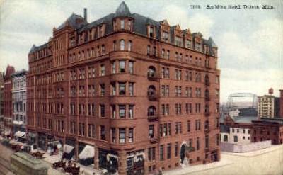 Spalding Hotel - Duluth, Minnesota MN Postcard