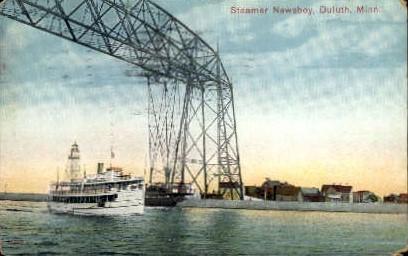 Steamer Newsboy - Duluth, Minnesota MN Postcard