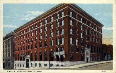 Y. M. C. A. Building - Duluth, Minnesota MN Postcard