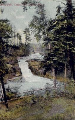 Amity Falls, Lester Park - Duluth, Minnesota MN Postcard