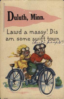 Duluth, Minnesota Postcard