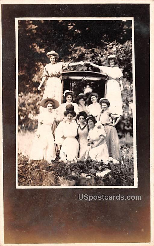 Group of People - Duluth, Minnesota MN Postcard