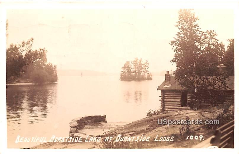 Beautiful Burntside Lake - Ely, Minnesota MN Postcard