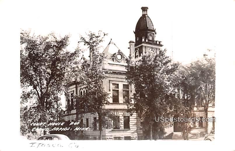 Court House - Grand Rapids, Minnesota MN Postcard