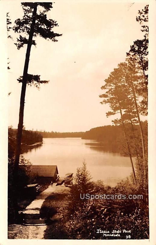Lake View - Itasca State Park, Minnesota MN Postcard