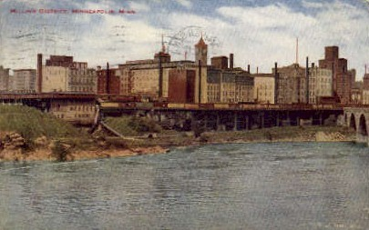 The Milling District - Minneapolis, Minnesota MN Postcard