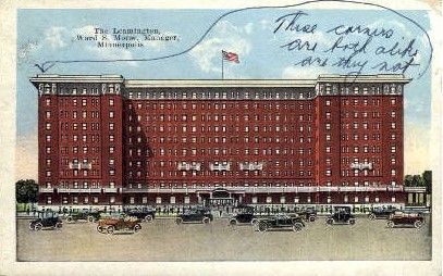 The Leamington - Minneapolis, Minnesota MN Postcard