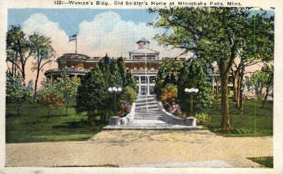 Woman's Bldg., Old Soldier's Home - Minneapolis, Minnesota MN Postcard