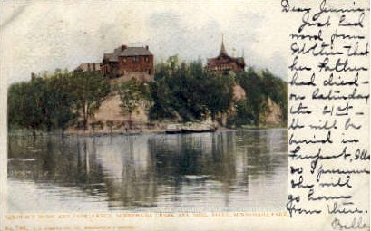Soldier's Home and Confluence - Minneapolis, Minnesota MN Postcard