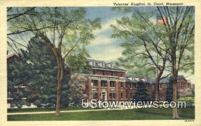 Veterans' Hospital - St. Cloud, Minnesota MN Postcard