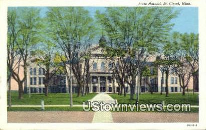 State Normal - St. Cloud, Minnesota MN Postcard