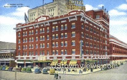 Zumbro Hotel - Rochester, Minnesota MN Postcard
