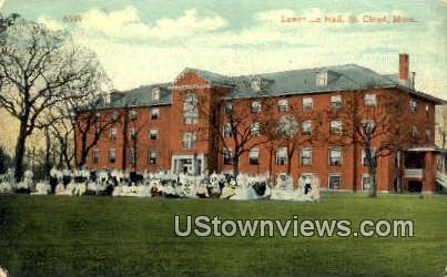 Lawrence Hall - St. Cloud, Minnesota MN Postcard