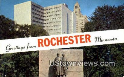 Rochester News Agency - Minnesota MN Postcard