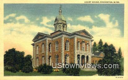Court House - Rochester, Minnesota MN Postcard