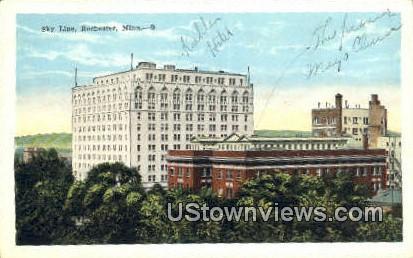 Sky Line - Rochester, Minnesota MN Postcard