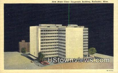 New Mayo Clinic Bldg - Rochester, Minnesota MN Postcard