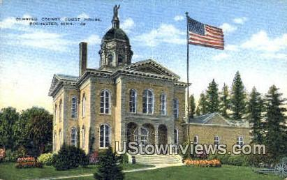 Olmsted County Court House - Rochester, Minnesota MN Postcard