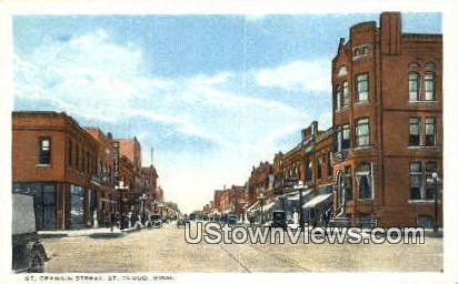 St. Germain Street - St. Cloud, Minnesota MN Postcard
